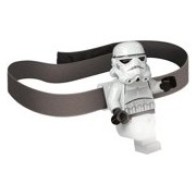 Lego: Star Wars - Storm Trooper Head Lamp with batteries