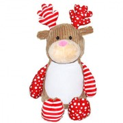 Wow tots Cuddly Deer Soft Toy (Red)
