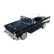 "Motormax GOTZMM73228BK 1:24 Scale Black ""1957 Chevrolet Bel Air"" Die Cast Model Car"