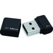 USB Flash Drive Kingston DataTraveler Micro 8GB Black