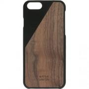 Husa Capac spate Walnut Wood Negru APPLE iPhone 6, iPhone 6S NATIVE UNION