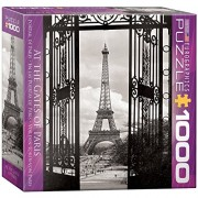 Eurographics Puzzle 1000 Pz - Paris View Of The Eiffel Tower (8X8 Box) (Mo)