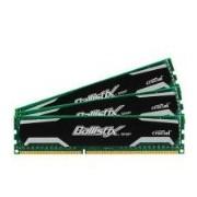 Crucial 3GB kit (1GBx3), Ballistix 240-pin DIMM, DDR3 PC3-12800 3GB DDR3 1600MHz memoria