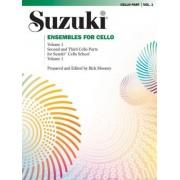 Ensembles for Cello, Vol 1 by Rick Mooney