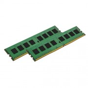Kingston KVR21E15S8K2/8I Modulo di Memoria da 8GB, Kit 2x8GB, 2133MHz, DDR4 ECC CL15 DIMM Intel