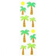 Mrs. Grossman's Stickers-Palm Trees & Sun