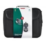 Torba za Notebook + Optički miš Mobile Traveler Edition Logitech HP