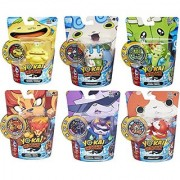 Set of 6: Yo-Kai Watch Medal Moments - Happierre Wiglin Blazion Baddinyan Komasan Jibanyan 100 Punch