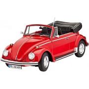 Revell 07078 - VW Beetle Cabriolet 1970 Kit di Modello in Plastica, Scala 1:24