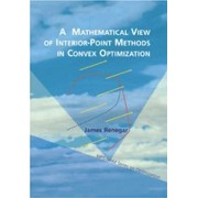 A Mathematical View of Interior-point Methods in Convex Optimization by James Renegar