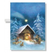Silent Night Musical Advent Calendar