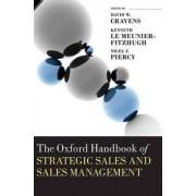 The Oxford Handbook of Strategic Sales and Sales Management by Emeritus Professor of Marketing David W Cravens