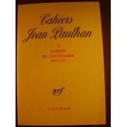 Cahiers Jean Paulhan N° 3 - Cahier Du Centenaire (1884-1984)
