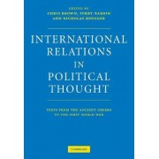 International Relations in Political Thought by Chris Brown