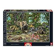 Educa 16013 - African Jungle, John M. Enright - 2000 pieces - Genuine Puzzle