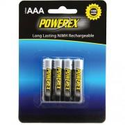 Baterias recargables Powerex AAA 1,2V 1000mAh - Pack 4xAAA