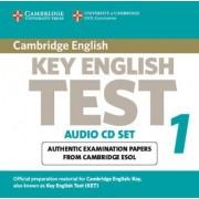 Cambridge Key English Test 1 Audio CD Set (2 CDs) by Cambridge ESOL