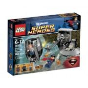 Lego Superheroes Superman Black Zero Escape