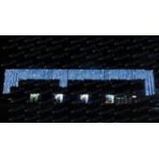 > LED - tenda led prolungabile 2 x 1,5 mt bianco caldo