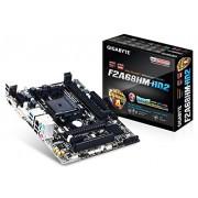 Gigabyte GA-F2A68HM-HD2 FM2+ Socket Motherboard (Socket FM2+, A68H, DDR3, Micro ATX, PCI Express 3.0)