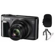 Canon Powershot SX720 HS Travel kit (negru) (DSC Gorillapod + DCC-2400 toc)