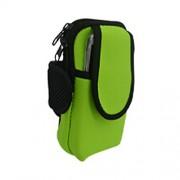 Deportivas al Aire Libre Teléfono Móvil Teléfono Móvil iPod MP3 MP4 banda de brazo bolso ¬ libras verde