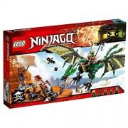 Lego ninjago dragone nrg verde