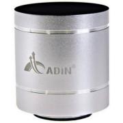 Boxa Portabila Adin Vibration Speaker MMDB1BTAR, Bluetooth (Argintiu)