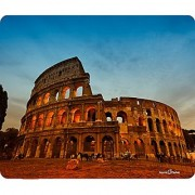 Colosseum At Sunset Rome Italy Thick Mousepad by Atomic Market
