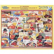 White Mountain Puzzles TV Dinners - 1000 Piece Jigsaw Puzzle