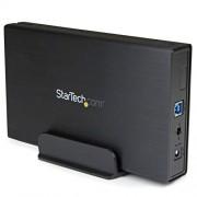 """StarTech.com S351BU313 Box Esterno, USB 3.1, 1 Alloggiamento da 3,5"""" SATA III, Nero"""