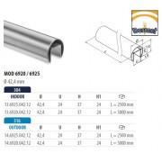 Pasamanos vidrio redondo Serie Q-railing Mod 6920/6925