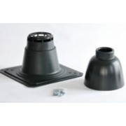 Saunier Duval Kürtőfedél Ø 80 mm fekete 0020079293