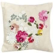 "Beddinghouse, Cuscino ""Les Roses"", 30 x 30 cm, Rosa (Rosa)"