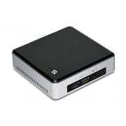 Intel - NUC5i3RYK 2.1GHz I3-5010U Negro, Acero inoxidable Mini PC