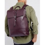 Ted Baker Mane Backpack in Leather - Purple