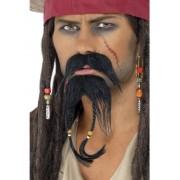 Set pirat mustata si barba