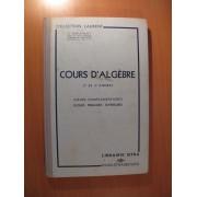 Cours D'algebre 2 Et 3eme Annees Cours Complementaires Ecole Primaires Superieures
