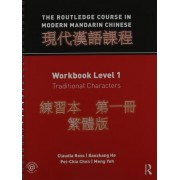 The Routledge Course in Modern Mandarin Traditional Level 1 Bundle