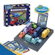 ThinkFun - Rush Hour Deluxe, juego de mesa en español (TF5050) - Juego: Rush Hour Deluxe