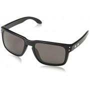 Oakley - Occhiali da sole, Uomo, Sliver, black - Machinist Matte Black/Chrome Irid, Taglia unica