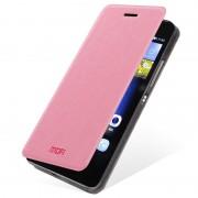 Capa com Cobertura Mofi Rui Series para Huawei P8 Lite - Rosa