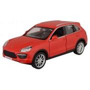 Rmz City Die Cast Porsche Cayenne Turbo, Matte Red (5-inch)
