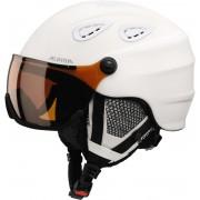 Alpina Grap Visor HM Helmet white matt Ski- & Snowboardhelme