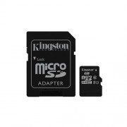 Kingston 256GB microSDHC/SDXC Class 10 UHS-I (r45MB/s, w10MB/s ) + adaptér