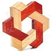 Juguetes educativos de madera Inteligencia Lock Set - Color Madera