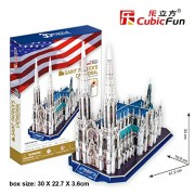 St.Patrick's Cathedral (New York) 3D Puzzle rompecabezas