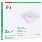 GAZIN Mullkomp.10x10 cm steril 8fach 5x2 Stück