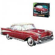 Chevy Bel Air 1957, 299 Piece 3D Jigsaw Puzzle Made by Wrebbit Puzz-3D