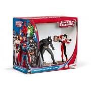 Schleich - 22514 - Figurine haute qualité - Scenery Pack - Batman Vs. Harley Quinn
